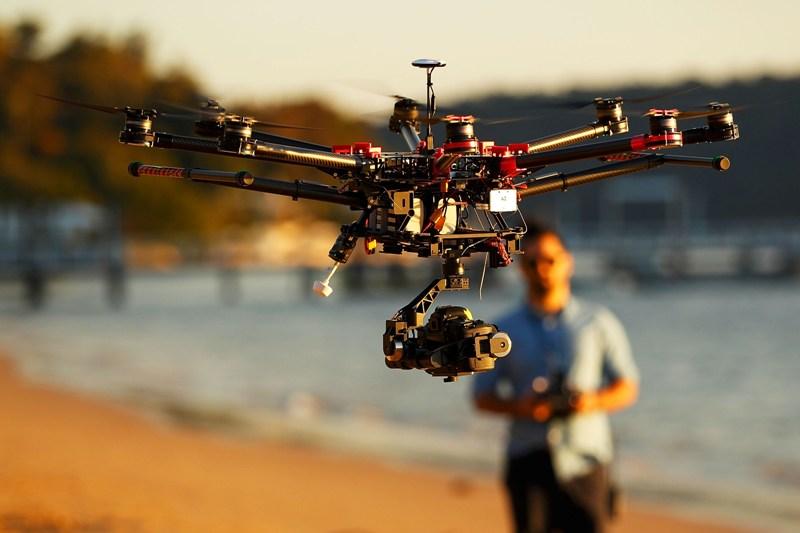 Roma Drone 2017, corsi e seminari per lavorare con i robot volanti